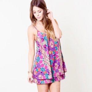 {Show Me Your Mumu} Amy Sue Dress in Wild Bloom